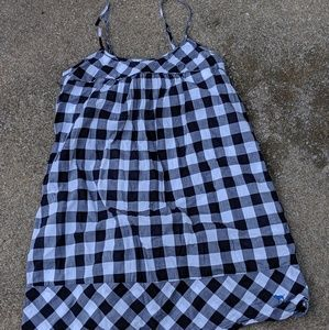 VS Pink plaid night gown